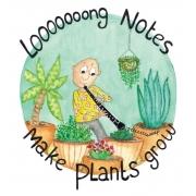 Hobo ansichtkaart (Plants)